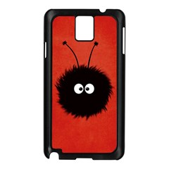 Red Cute Dazzled Bug Samsung Galaxy Note 3 N9005 Case (black) by CreaturesStore