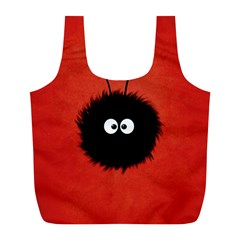 Red Cute Dazzled Bug Reusable Bag (l) by CreaturesStore