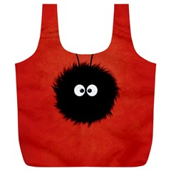 Red Cute Dazzled Bug Reusable Bag (xl) by CreaturesStore