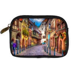 Alsace France Digital Camera Leather Case by StuffOrSomething