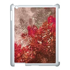 Decorative Flowers Collage Apple Ipad 3/4 Case (white)