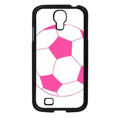 Soccer Ball Pink Samsung Galaxy S4 I9500/ I9505 Case (black) by Designsbyalex