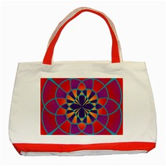Mandala Classic Tote Bag (red)