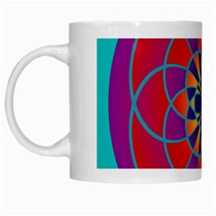 Mandala White Coffee Mug