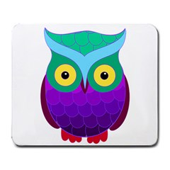 Groovy Owl Large Mouse Pad (rectangle) by SaraThePixelPixie