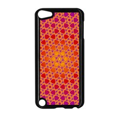 Radial Flower Apple Ipod Touch 5 Case (black) by SaraThePixelPixie