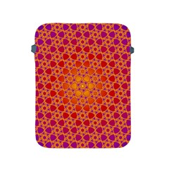 Radial Flower Apple Ipad Protective Sleeve by SaraThePixelPixie