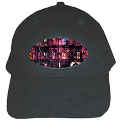 Physical Graffitied Black Baseball Cap by SaraThePixelPixie