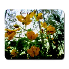 Yellow Flowers Large Mouse Pad (rectangle) by SaraThePixelPixie