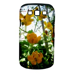 Yellow Flowers Samsung Galaxy S Iii Classic Hardshell Case (pc+silicone) by SaraThePixelPixie