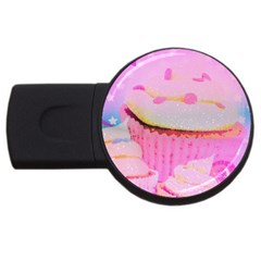Cupcakes Covered In Sparkly Sugar 4gb Usb Flash Drive (round) by StuffOrSomething