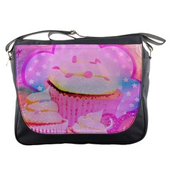Cupcakes Covered In Sparkly Sugar Messenger Bag by StuffOrSomething