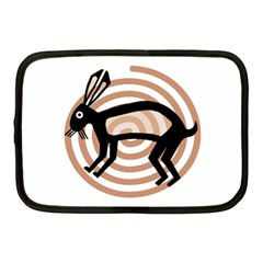 Mimbres Rabbit Netbook Sleeve (medium)