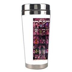 Physical Graffitied Stainless Steel Travel Tumbler by SaraThePixelPixie