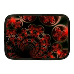 Phenomenon, Orange Gold Cosmic Explosion Netbook Sleeve (medium) by DianeClancy