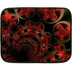 Phenomenon, Orange Gold Cosmic Explosion Mini Fleece Blanket (two Sided)