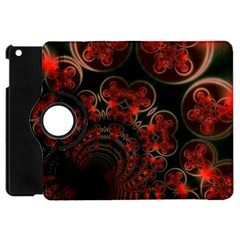Phenomenon, Orange Gold Cosmic Explosion Apple Ipad Mini Flip 360 Case by DianeClancy