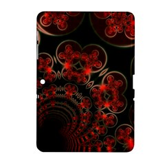 Phenomenon, Orange Gold Cosmic Explosion Samsung Galaxy Tab 2 (10 1 ) P5100 Hardshell Case