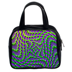 Illusion Delusion Classic Handbag (two Sides)
