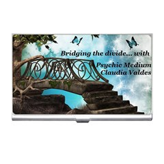 Psychic Medium Claudia Business Card Holder by thesmallmediumatlarge