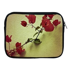 Santa Rita Flower Apple Ipad Zippered Sleeve by dflcprints