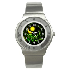 Artichoke Stainless Steel Watch (slim)