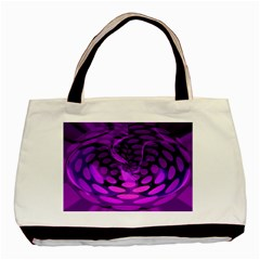 Abstract In Purple Classic Tote Bag by FunWithFibro