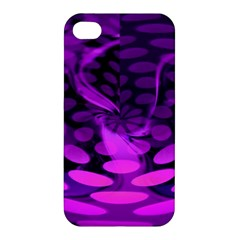 Abstract In Purple Apple Iphone 4/4s Hardshell Case by FunWithFibro