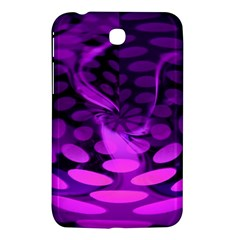 Abstract In Purple Samsung Galaxy Tab 3 (7 ) P3200 Hardshell Case  by FunWithFibro