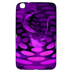 Abstract In Purple Samsung Galaxy Tab 3 (8 ) T3100 Hardshell Case  by FunWithFibro