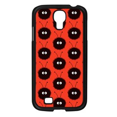 Red Cute Dazzled Bug Pattern Samsung Galaxy S4 I9500/ I9505 Case (black) by CreaturesStore