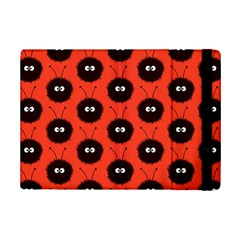 Red Cute Dazzled Bug Pattern Apple Ipad Mini 2 Flip Case by CreaturesStore