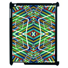Colorful Geometric Abstract Pattern Apple Ipad 2 Case (black)