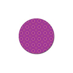 Purple Moroccan Pattern Golf Ball Marker 10 Pack by SaraThePixelPixie