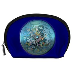 Led Zeppelin Iii Art Accessories Pouch (large) by SaraThePixelPixie