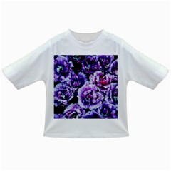 Purple Wildflowers Of Hope Baby T Shirt by FunWithFibro