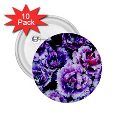 Purple Wildflowers Of Hope 2 25  Button (10 Pack) by FunWithFibro