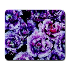 Purple Wildflowers Of Hope Large Mouse Pad (rectangle) by FunWithFibro