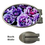 Purple Wildflowers Of Hope Money Clip (Oval) Front