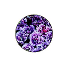 Purple Wildflowers Of Hope Golf Ball Marker 4 Pack (for Hat Clip) by FunWithFibro