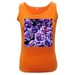 Purple Wildflowers Of Hope Women s Tank Top (dark Colored) by FunWithFibro