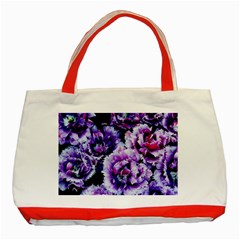 Purple Wildflowers Of Hope Classic Tote Bag (red) by FunWithFibro
