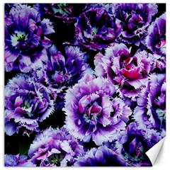 Purple Wildflowers Of Hope Canvas 20  X 20  (unframed) by FunWithFibro