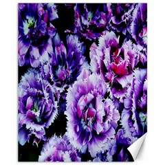 Purple Wildflowers Of Hope Canvas 11  X 14  (unframed) by FunWithFibro