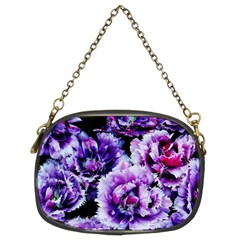 Purple Wildflowers Of Hope Chain Purse (two Sided)  by FunWithFibro