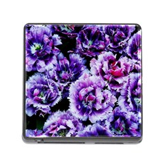 Purple Wildflowers Of Hope Memory Card Reader With Storage (square) by FunWithFibro