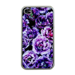 Purple Wildflowers Of Hope Apple Iphone 4 Case (clear) by FunWithFibro
