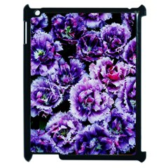 Purple Wildflowers Of Hope Apple Ipad 2 Case (black) by FunWithFibro