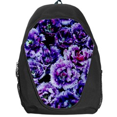 Purple Wildflowers Of Hope Backpack Bag by FunWithFibro