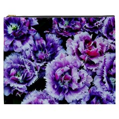 Purple Wildflowers Of Hope Cosmetic Bag (xxxl) by FunWithFibro